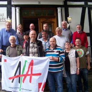 Teilnehmer der AfA-Klausur der HSK-SPD